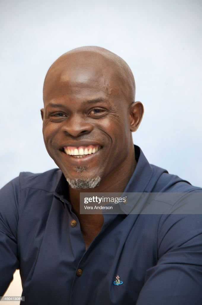 Djimon Hounsou at the 'How To Train Your Dragon 2' Press Conference at the Pacific Design Center on June 9, 2014 in West Hollywood, CA.
