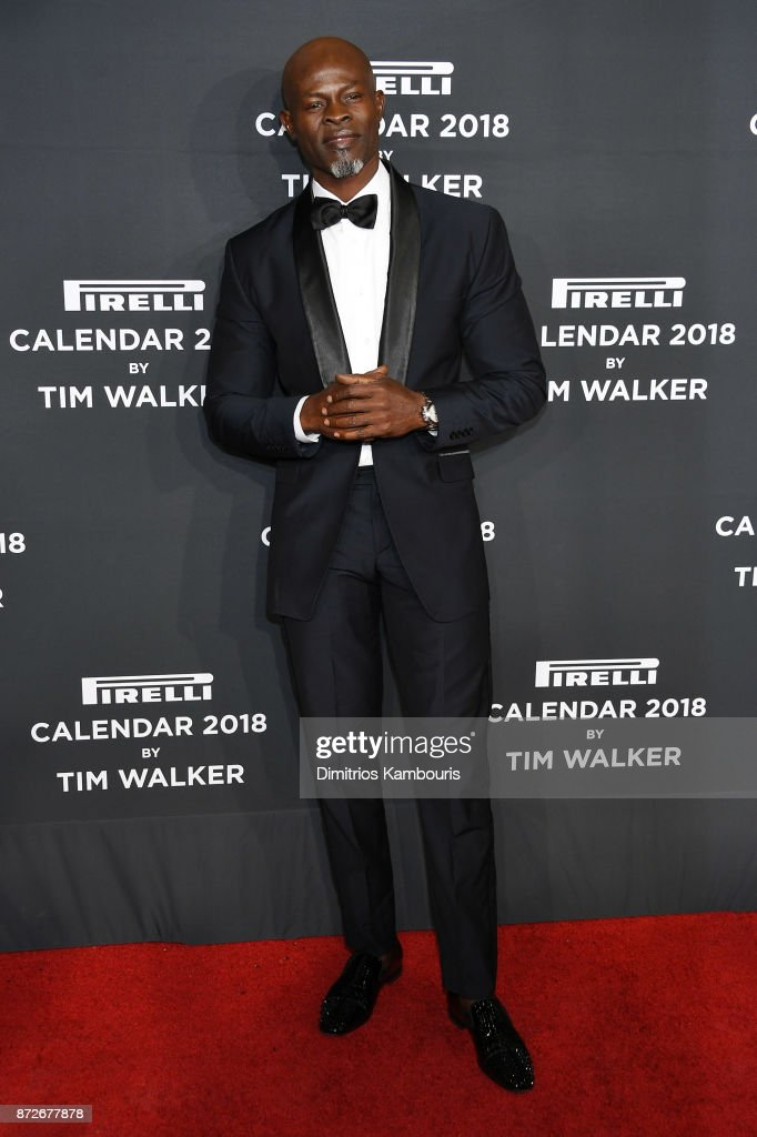 Djimon Hounsou attends the 2018 Pirelli Calendar Launch Gala at The Pierre Hotel on November 10, 2017 in New York City.