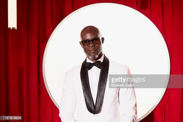 Djimon Hounsou attends the 22nd Costume Designers Guild Awards at The Beverly Hilton Hotel on January 28 2020 in Beverly Hills California