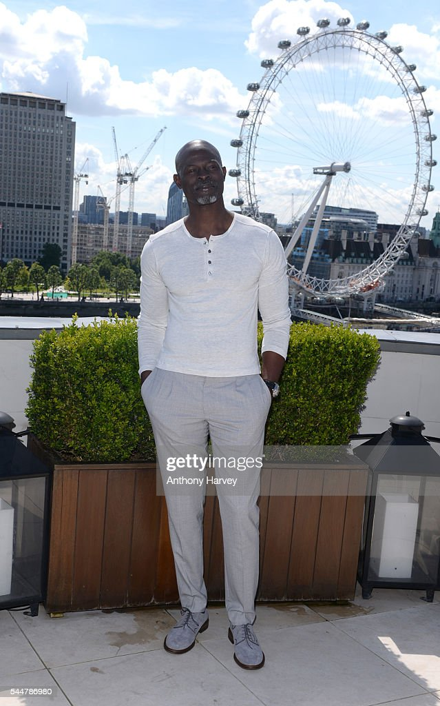 Djimon Hounsou attends the photocall for 'The Legend Of Tarzan' at Corinthia London on July 4, 2016 in London, England.