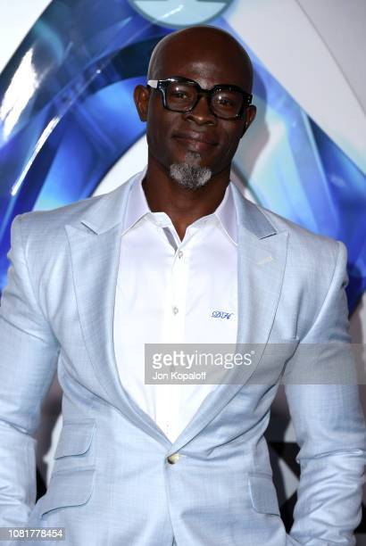Djimon Hounsou attends the premiere of Warner Bros Pictures' 'Aquaman' at TCL Chinese Theatre on December 12 2018 in Hollywood California