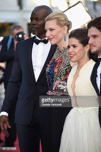 Djimon Hounsou Cate Blanchett America Ferrera and Kit Harington attend the 'How To Train Your Dragon 2' Premiere at the 67th Annual Cannes Film...