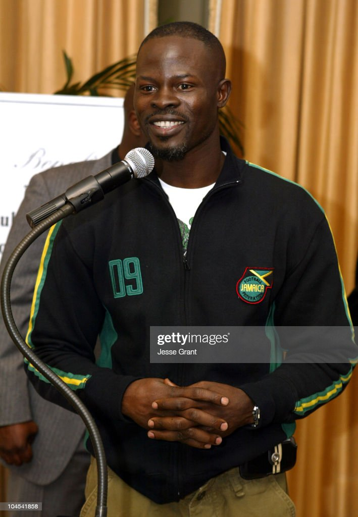 Djimon Hounsou during 11th Annual Student Pre-Oscar Scholarship Luncheon at Peninsula Beverly Hills in Beverly Hills, California, United States.