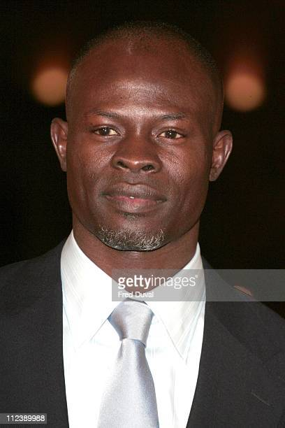 """Djimon Hounsou during """"Blood Diamond"""" London Premiere - Arrivals at Odeon Leicester Square in London, Great Britain."""