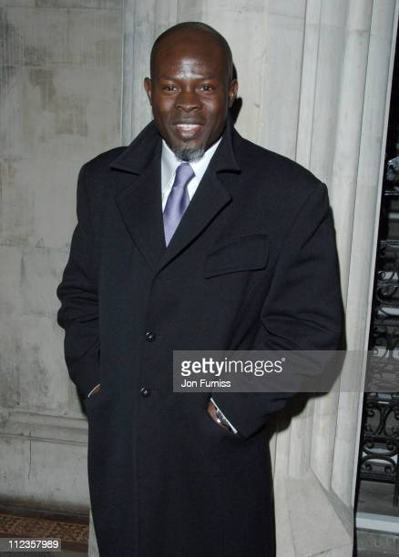 Djimon Hounsou during Eragon London Premiere After Party at Odeon Leichester Square in London Great Britain