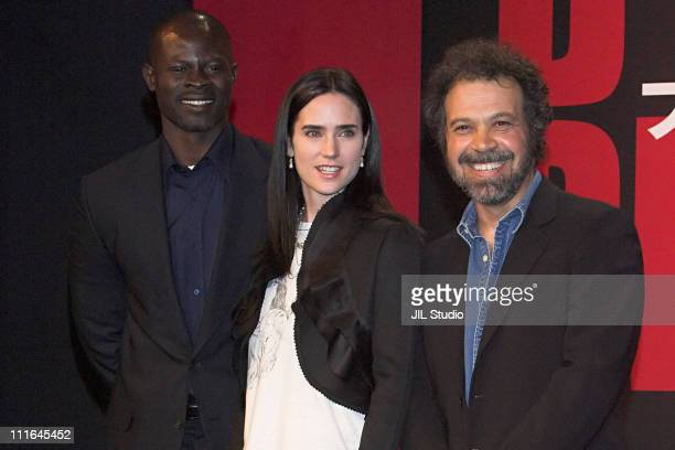 Djimon Hounsou Jennifer Connelly and Edward Zwick director