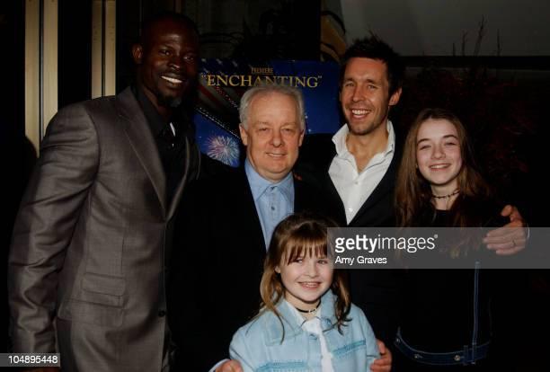 Djimon Hounsou Jim Sheridan director Paddy Considine Emma Bolger and Sarah Bolger