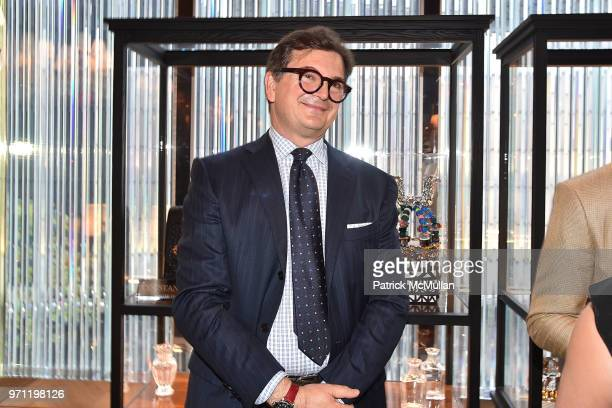 Djordje Stefanovic attends Christopher R King Debuts New Luxury Brand CCCXXXIII at Baccarat Hotel on June 5 2018 in New York City