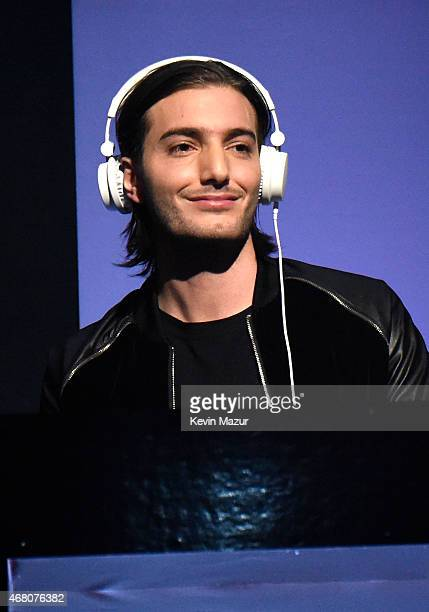 DJ/producer Alesso performs onstage during the 2015 iHeartRadio Music Awards which broadcasted live on NBC from The Shrine Auditorium on March 29...