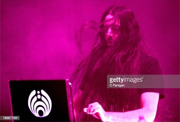 Producer Bassnectar aka. Lorin Ashton performs during the 2013 Voodoo Music + Arts Experience at City Park on November 3, 2013 in New Orleans,...