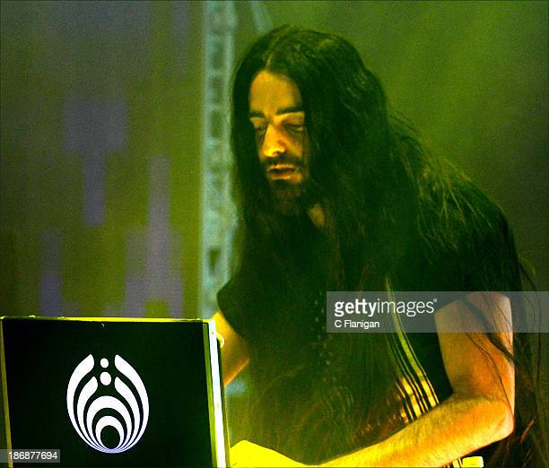 Producer Bassnectar aka Lorin Ashton performs during the 2013 Voodoo Music Arts Experience at City Park on November 3 2013 in New Orleans Louisiana