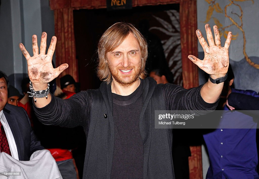 GIANT Presents David Guetta At Grauman's Ballroom Chinese Theatres Hollywood