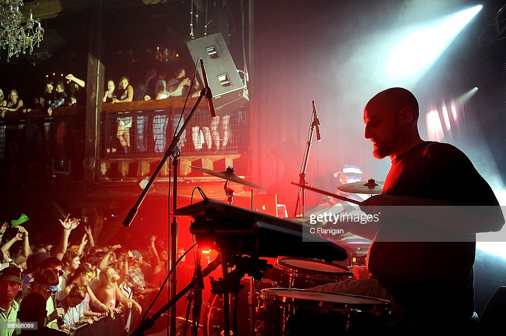 DJ/Producer Derek Vincent Smith And Drummer Cory Eberhard Of Pretty Lights  Perform At The