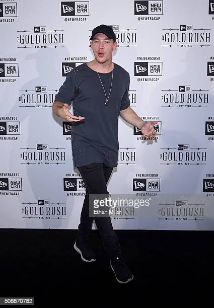 DJ/producer Diplo attends the New Era Super Bowl party at The Battery on February 6 2016 in San Francisco California