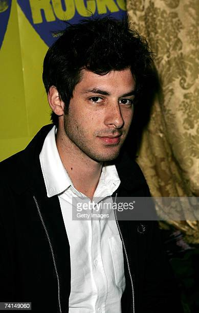 DJ/producer Mark Ronson arrives at the Ibiza Rocks with Sony Ericsson launch party at The Lock Tavern Camden on May 14 2007 in London England The...