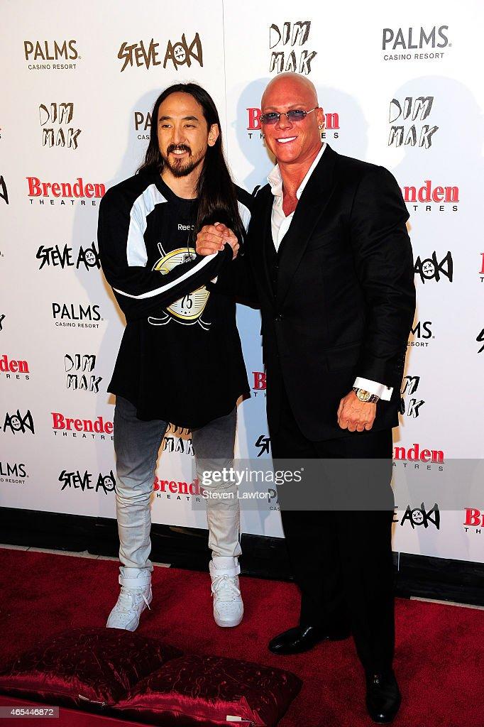 Steve Aoki Receives Brenden Celebrity Star At The Palms : News Photo