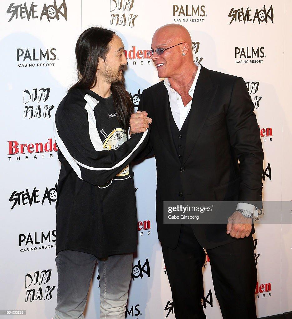 Steve Aoki Receives Brenden Celebrity Star At Palms Casino Resort : News Photo