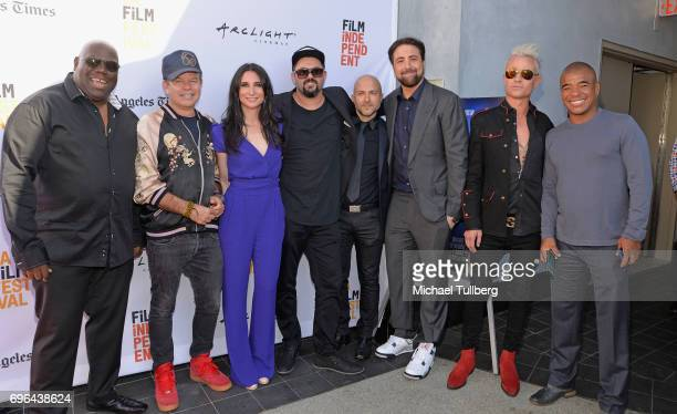 DJ/producers Carl Cox and Paul Oakenfold producer Cassandra Hamar Kobi Danan director/producers Cyrus Saidi and Bert Marcus Dean May and electronic...