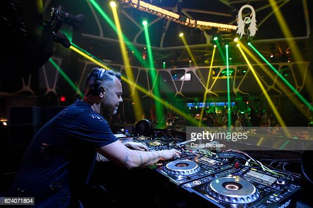 DJ/recording artist Juan Magan attends the after party for the 17th annual Latin Grammy Awards at Hakkasan Las Vegas Restaurant and Nightclub on...