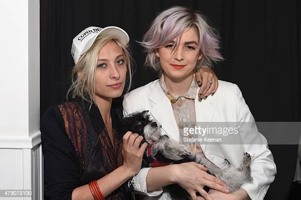 DJs Samantha Urbani and Allie Teilz attend MeUndies Women's Launch Seaside at MeUndies #AllOfMeUndies on May 12 2015 in Venice California
