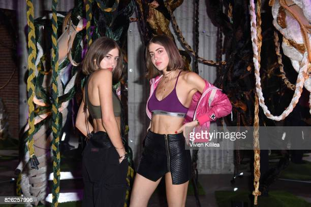 DJs Simi and Haze attend PUMA Hosts CAMP PUMA To Launch Their Newest Women's Collection Velvet Rope at Goya Studios on August 3 2017 in Los Angeles...