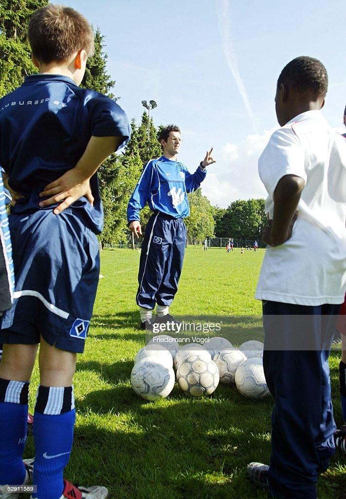 D Jugend Hsv Junioren 2003 Hamburg Training Hamburger Sv