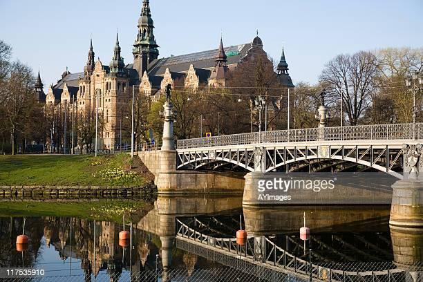 djurgarden in stockholm, sweden - djurgarden stock pictures, royalty-free photos & images