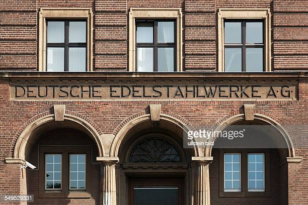 DKrefeld Rhine Lower Rhine Rhineland North RhineWestphalia NRW DKrefeldStahldorf Deutsche Edelstahlwerke AG former headquarters brick building