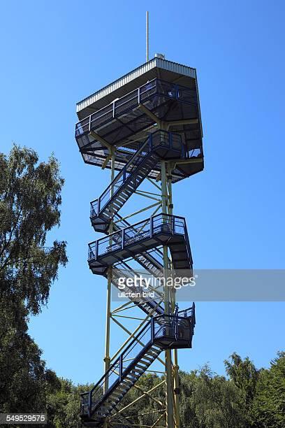 Krefeld, Rhine, Lower Rhine, Rhineland, North Rhine-Westphalia, NRW, D-Krefeld-Huelser Berg, Johannes tower on the Huelser Berg, Huels mountain,...