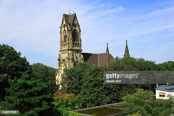 DKrefeld Rhine Lower Rhine Rhineland North RhineWestphalia NRW Luther church evangelic church