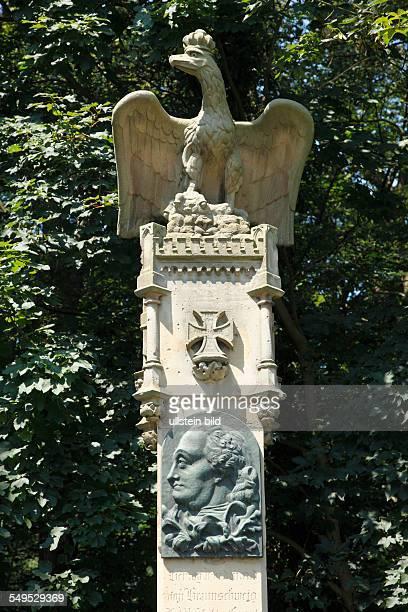 Krefeld, Rhine, Lower Rhine, Rhineland, North Rhine-Westphalia, NRW, D-Krefeld-Forstwald, Hueckelsmay memorial, Seven Years War, Battle of Krefeld,...