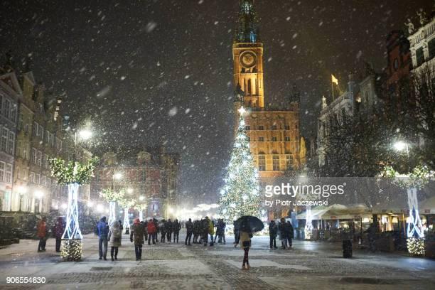 dluga street, gdańsk - gdansk stock pictures, royalty-free photos & images