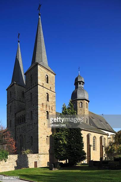DMarienmuenster pilgrimage site East Westphalia Westphalia North RhineWestphalia NRW Marienmuenster abbey former Benedictine monastery nowadays...