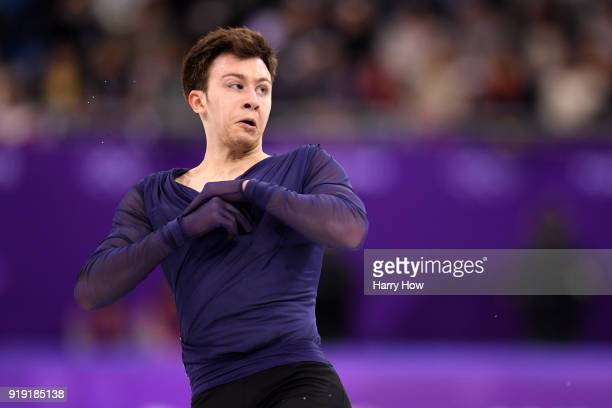 Dmitri Aliev of Olympic Athlete from Russia competes during the Men's Single Free Program on day eight of the PyeongChang 2018 Winter Olympic Games...