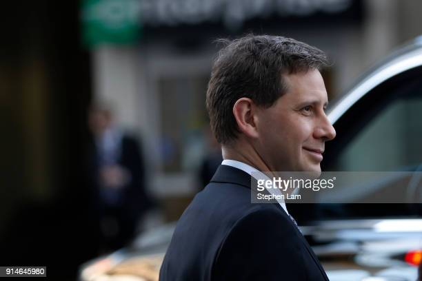 Dmitri Dolgov vice president of engineering at Waymo exits Phillip Burton Federal Building after day one of the trial between Waymo and Uber...