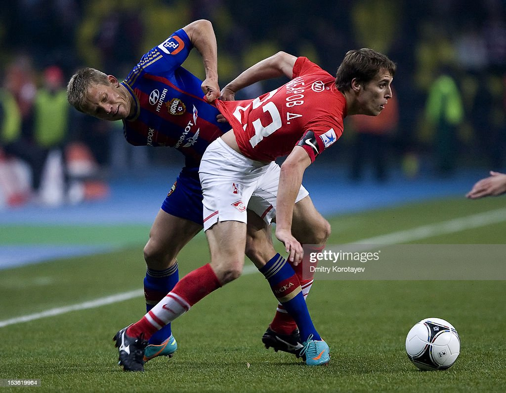 FC Spartak Moscow v PFC CSKA Moscow - Premier League : News Photo