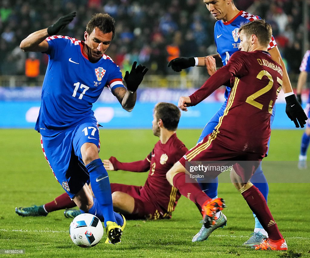 Russia v Croatia - International Friendly : News Photo