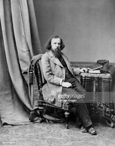 Dmitri Mendeleev Russian chemist c1880c1882 One of the greatest figures in the history of chemistry Mendeleev was responsible for formulating the...