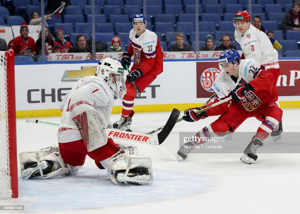 Czech Republic v Belarus - 2018 IIHF World Junior Championship : News Photo