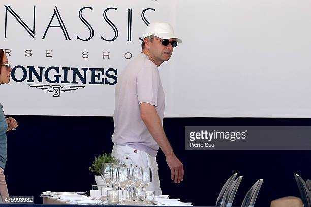 Dmitri Rybolovlev attends the Longines Athina Onassis horse Show on June 5 2015 in SaintTropez France