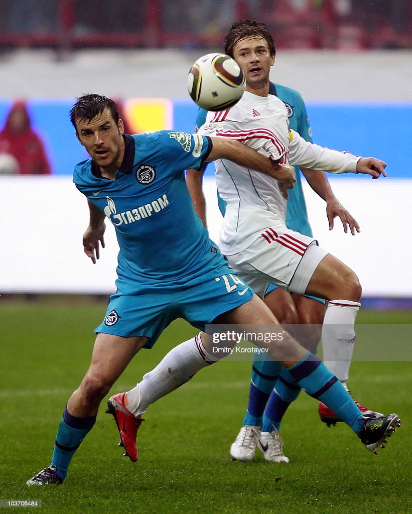 Lokomotiv Moscow v Zenit Saint Petersburg - Premier-Liga