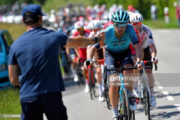 Dmitriy Gruzdev of Kazahkstan and Team Astana – Premier Tech during the 45th La Route d'Occitanie - La Depeche Du Midi 2021, Stage 3 a 191,8km stage...