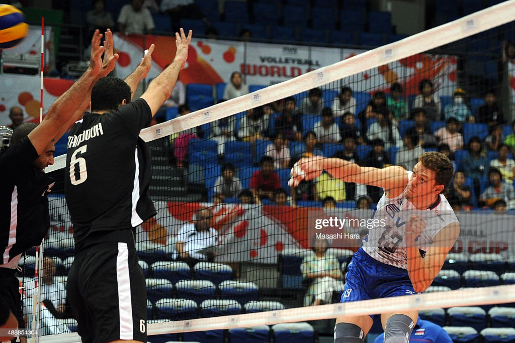 Egypt v Russia - FIVB Men's Volleyball World Cup Japan 2015