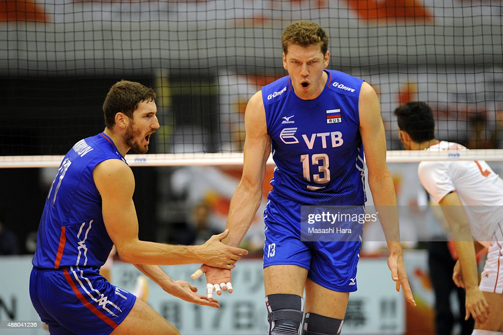 Iran v Russia - FIVB Men's Volleyball World Cup Japan 2015