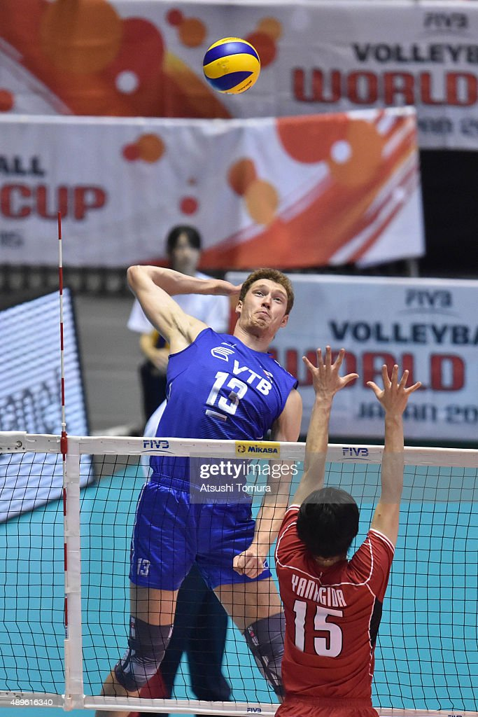 Japan v Russia - FIVB Men's Volleyball World Cup Japan 2015