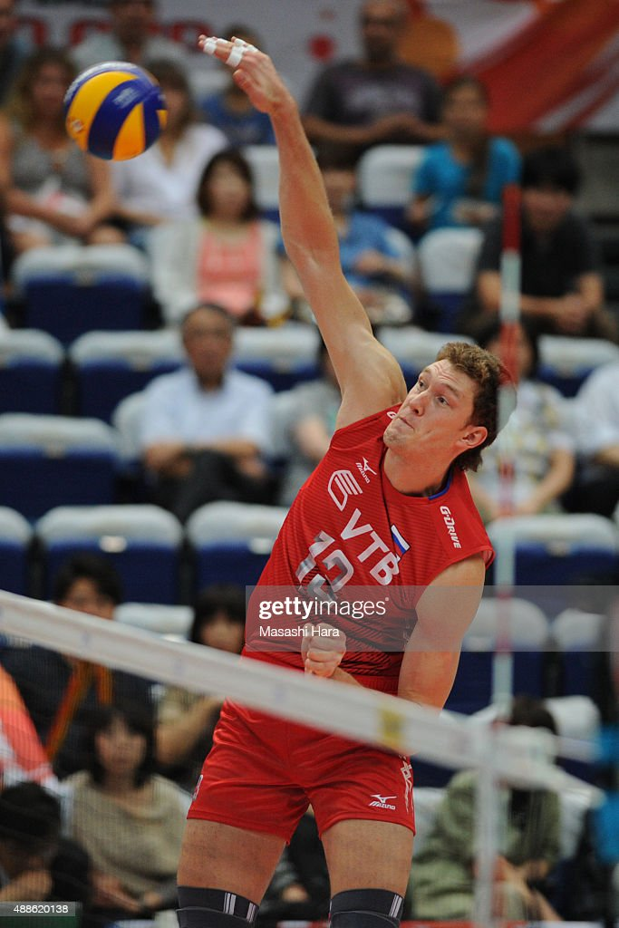 Australia v Russia - FIVB Men's Volleyball World Cup Japan 2015