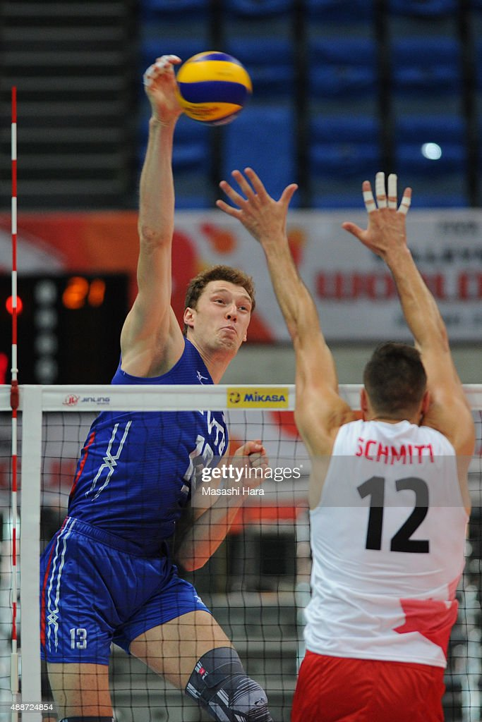 Canada v Russia - FIVB Men's Volleyball World Cup Japan 2015