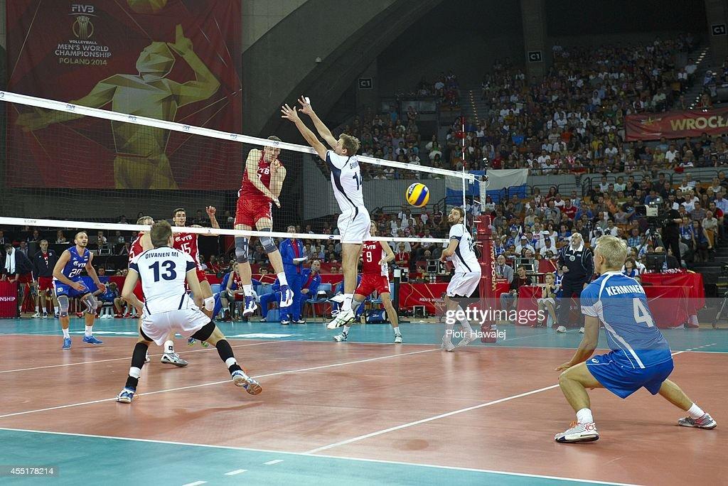 Finland v Russia: FIVB World Championship