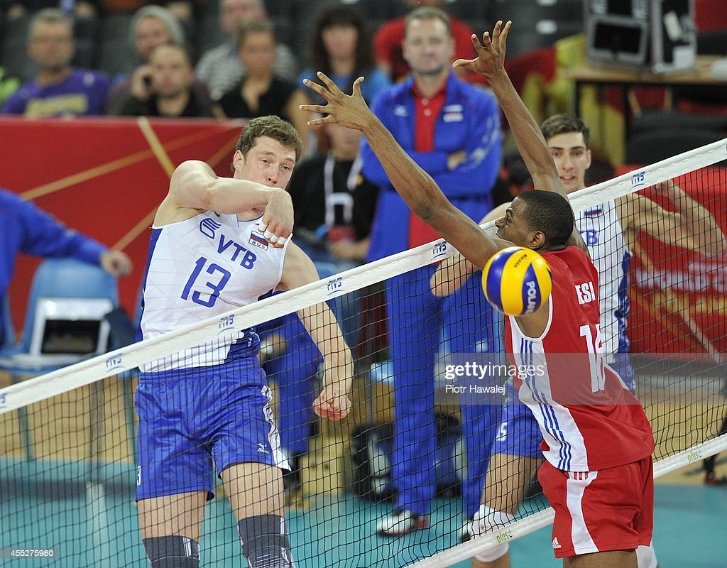 Cuba v Russia: FIVB World Championship