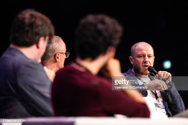 Dmitry Kiselyov attends Starmus V A Giant Leap sponsored by Kaspersky at Samsung Hall on June 26 2019 in Zurich Switzerland